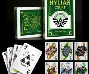 Hylian Court Zelda Playing Cards via SUATMM.com   Legend of Zelda Premium Journal via amazon.com   Zelda 3d Lenticular Poster via amazon.com   Legend of Zelda Link