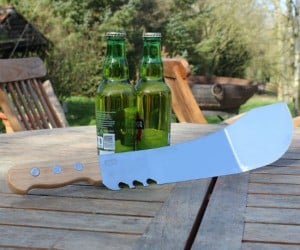 Machete Spatula – Perfect for cooking burgers, cracking open beers, or possibly killing zombies.