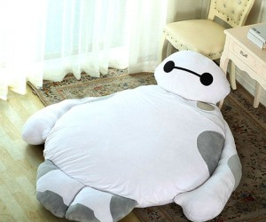 The Baymax bed: your personal cuddle companion!