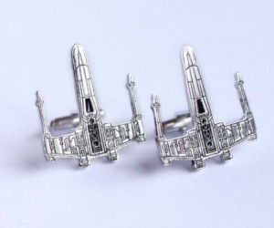 Star Wars X-Wing Cufflinks – Great gift for a Rebel Pilot!
