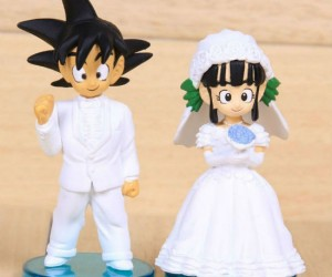 Share your special day with Goku and ChiChi!