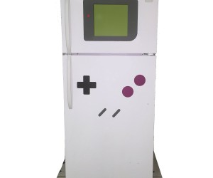 Makes any refrigerator look like your favorite 80's gaming console!