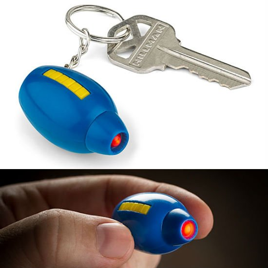 mega buster keychain