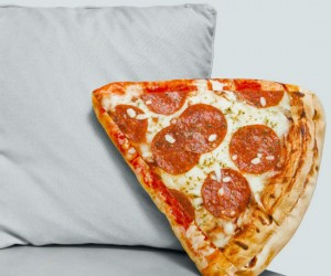 Pizza Slice Pillow – looks real enough to eat.