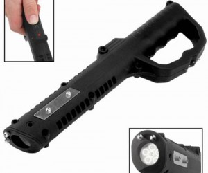 Perfect for law enforcement, bouncers, or any potentially dangerous situation.   Baton Stun Gun –