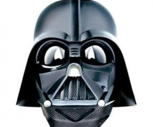Feel and sound like Darth Vader in your Voice Changer Helmet!