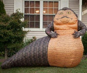 BOONOWA TWEEPI, HO HO HO – Why wouldn't you want a life size inflatable Jabba The Hutt on your front lawn?
