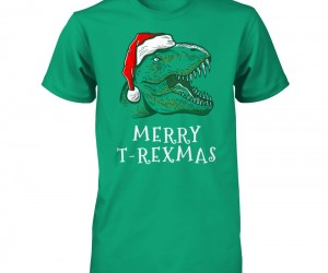 Merry T-Rexmas! Whoever said Santa couldn't be a T-Rex?