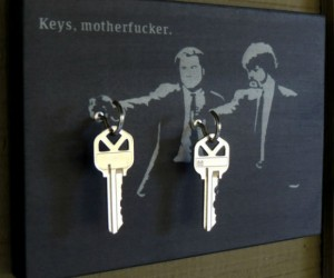 Keys Motherf*cker Key Holder – Say keys one more time!