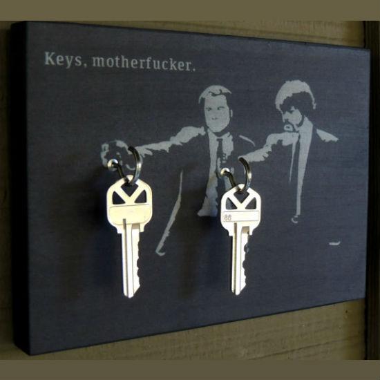 pulp fiction key holder