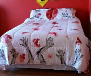 Zombie Bedding – And you thought the monster under your bed gave you nightmares  To find the Perfect online mattress and bed in the box mattress. Look at the
