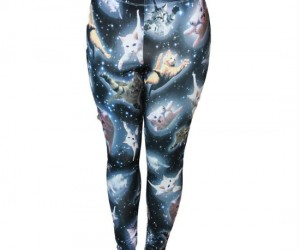 Space Kitten Leggings – Are those space pants? Because that cat is out of this world!