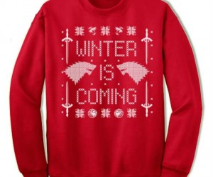 Winter is Coming Ugly Christmas Sweater – You know everything about Holiday fashion Jon Snow