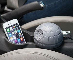 Star Wars Death Star USB Car Charger – Millions of car horns silenced…