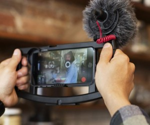 With the IOgrapher Filmmaking case there's no need for expensive camera equipment, just pop in your phone and you're good to go!