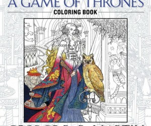 The Official Game of Thrones coloring book! – All men must draw.