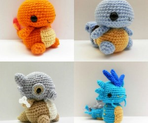 Crochet Chibi Style Pokemon – Gotta stitch 'em all!