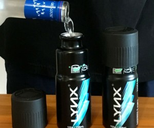 Deodorant Can Flask! – Is that the sweet smell of hidden alcohol?