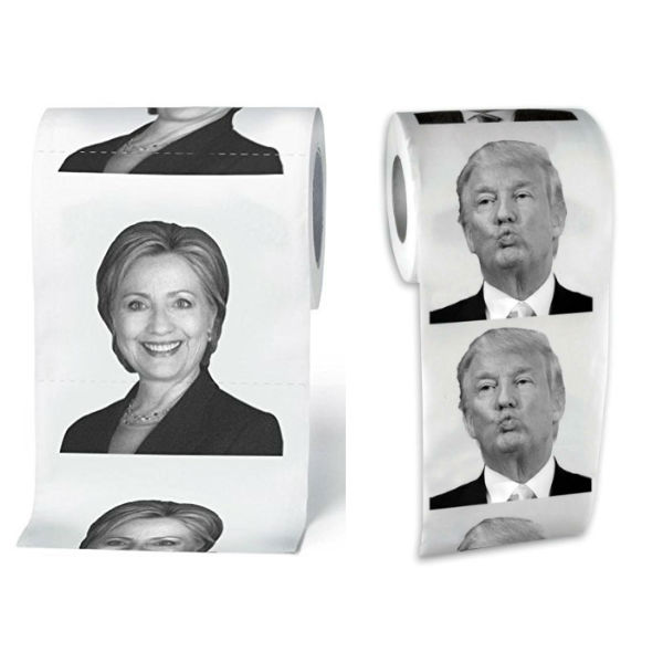 hillary-trump-toilet-paper