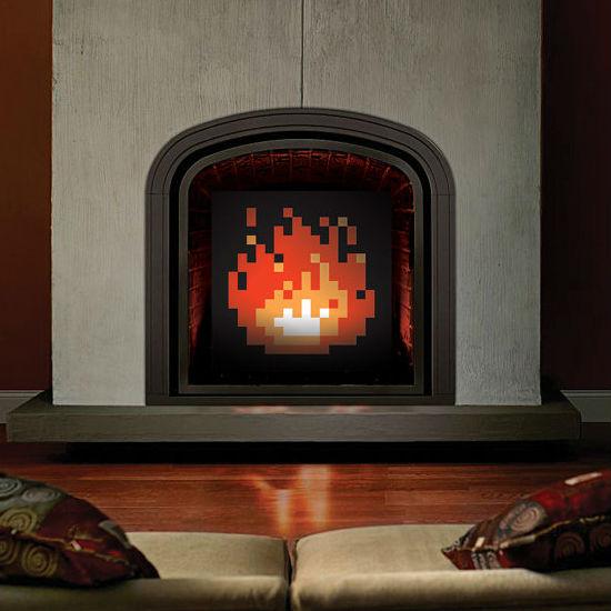 8bit-fireplace