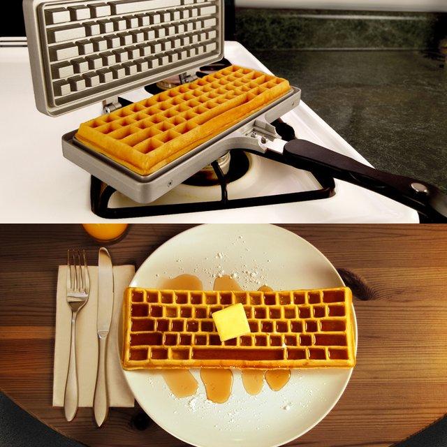 keyboard-waffle-maker