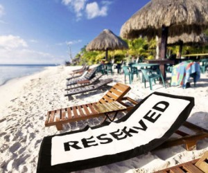 Reserved Beach Towel – Perfect for keeping unwanted beachgoers from stealing your spot.