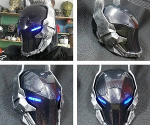 Every second you don't own this helmet is one more second you're not Mecha-Batman