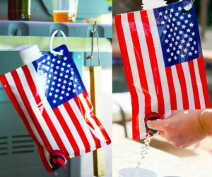 The American Flag Flask – It's time to make America drink again!