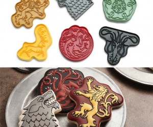 Game of Thrones Cookie Cutters – Because cookies make everything better