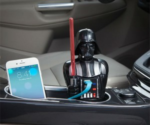 Darth Vader USB Car Charger – Don't underestimate the power of the Dark Side!