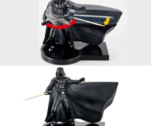 Darth Vader Toothpick Dispenser – Got something stuck in your teeth? Don't worry Vader's got you covered.