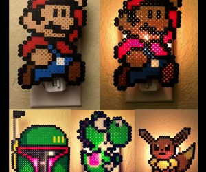 Pixel Night Lights! – Just plug them in and watch them glow