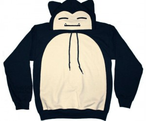 Pokemon Snorlax Hoodie – Perfect for throwing on and taking a 3 day nap.