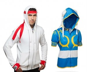 Street Fighter Hoodies – Suit up with Ryu or Chun Li for your next battle! Round 1 fight!