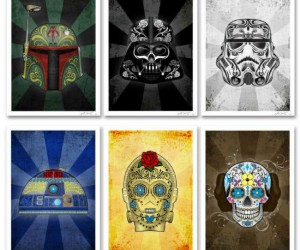 Celebrate Dia de los Muertos in a Galaxy Far Far Away…
