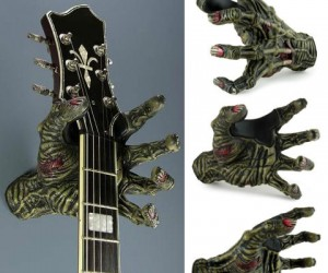 Zombie Hand Guitar Holder!