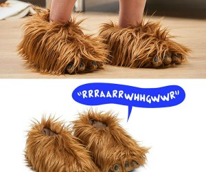 Chewbacca Slippers – Wookies for your tootsies