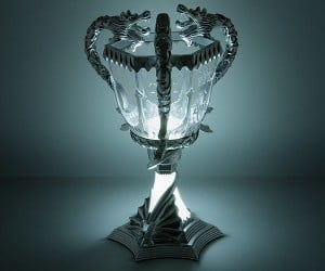 Harry Potter Triwizard Cup Lamp – For the victorious! (That's you)