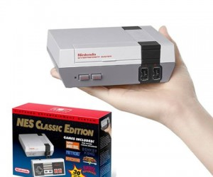 Mini Nintendo Classic Edition – Comes preloaded with 30 classic NES games!