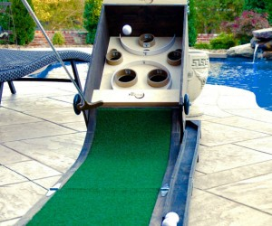 Puttskee -Can't decide between putting or skeeball? Well now you don't have to.
