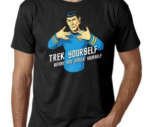 Spock Trek Yourself Tee – To not Trek yourself would be illogical