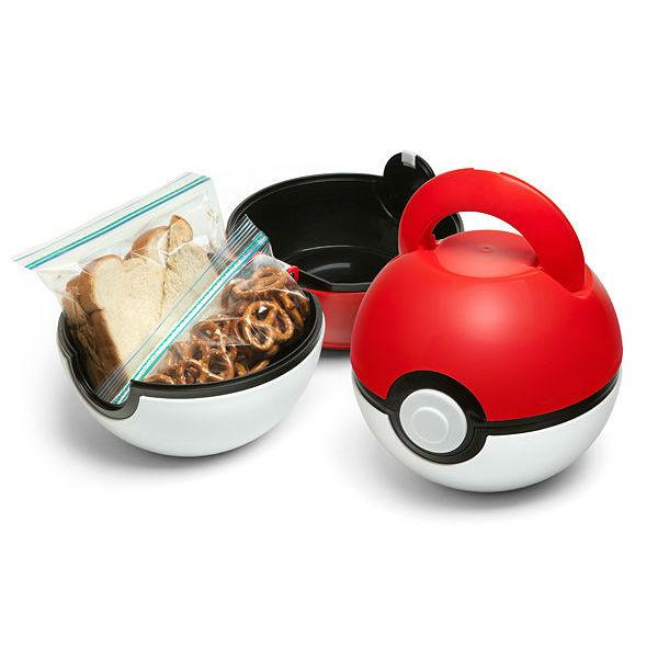 pokeball lunch case