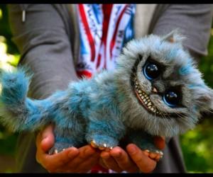 Baby Cheshire Cat Doll Plush
