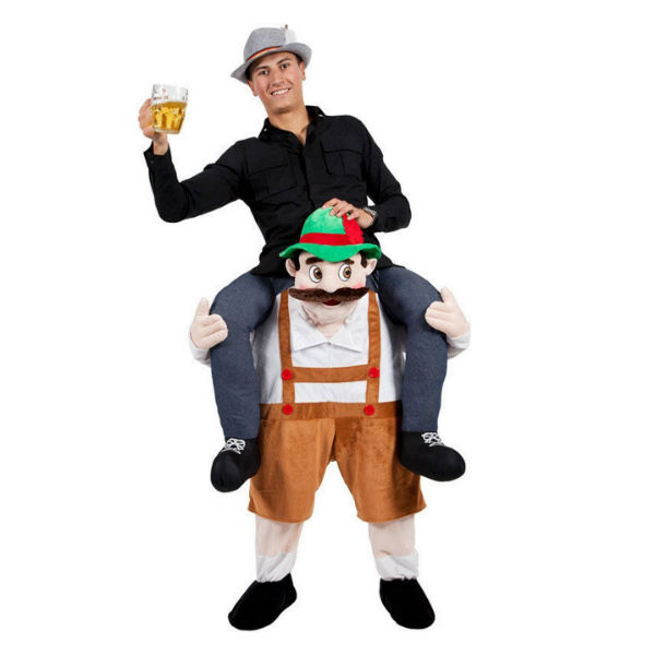 drunk bavarian beer man
