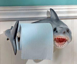 Shark Attack Toilet Paper Holder