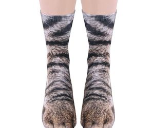 Sublimated Paw Crew Socks!