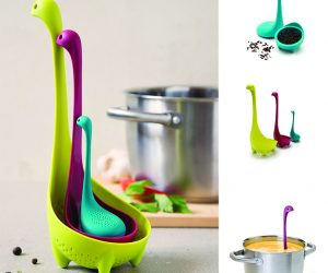 The Nessie Family Colander, Spoon, and Tea Infuser!