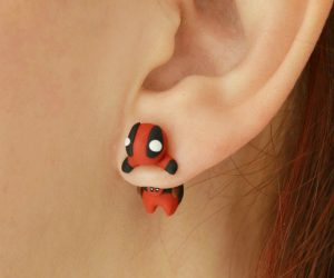 Deadpool Earrings