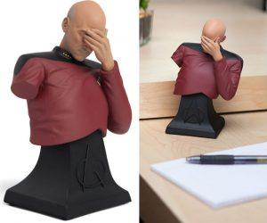 Captain Picard Facepalm Bust