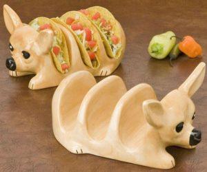 Chihuahua Taco Holder – Taco 'bout a cute taco holder!